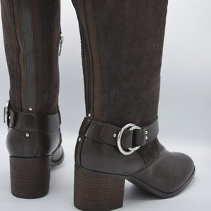 Marc Fisher Medium Calf Leather Riding Boot Gatway